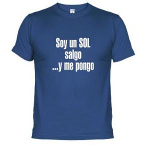 SOY UN SOL SALGO Y ME PONGO LOGO -  Camiseta unisex