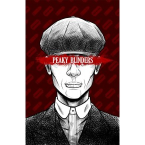 """Lienzos Textiles con marco """"Full Wrap"""" -  Peaky Blinders  Tommy Shelby II"""