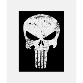 "Lienzos Textiles con marco ""Full Wrap"" -  Punisher"