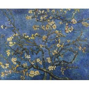 "Lienzos Textiles con marco ""Full Wrap"" -   Almond Blossom"