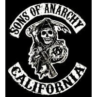 "Llenços Tèxtils amb marc "" Full Wrap "" -  Sons of Anarchy SOA"