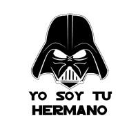 "Lienzos Textiles con marco ""Full Wrap"" - Star Wars Yo soy tu hermano"