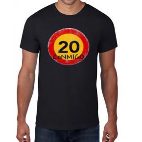 20 Conmigo by nicestuff -  Camiseta unisex