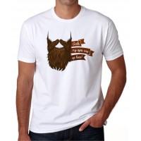 diseño de barba -  Camiseta unisex