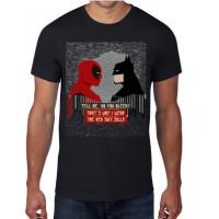batman vs spiderman -  Camiseta unisex