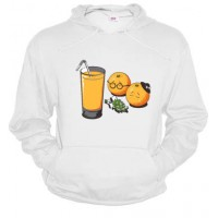 Entierro naranjas juice - Dessuadora unisex