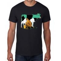 Vaca ordeñada -  Camiseta unisex