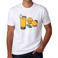Entierro naranjas juice -  Camiseta unisex