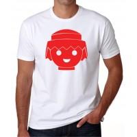 cara click playmobil -  Camiseta unisex