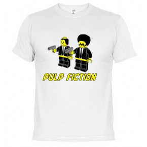 Click  Fiction de Tarantino - Camiseta unisex